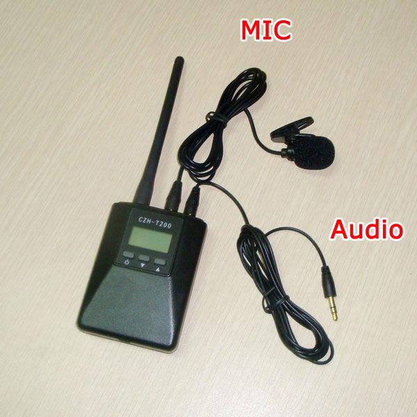 CZE-T200 0.2W broadcast radio FM-sender CZH-T200
