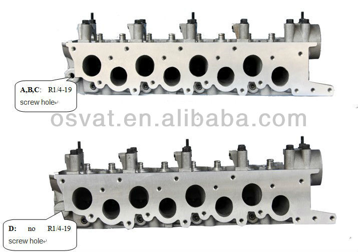 cylinder head for MITSUBISHI 4D56 (MD185926/MD185920/MD109736/22100-42900)