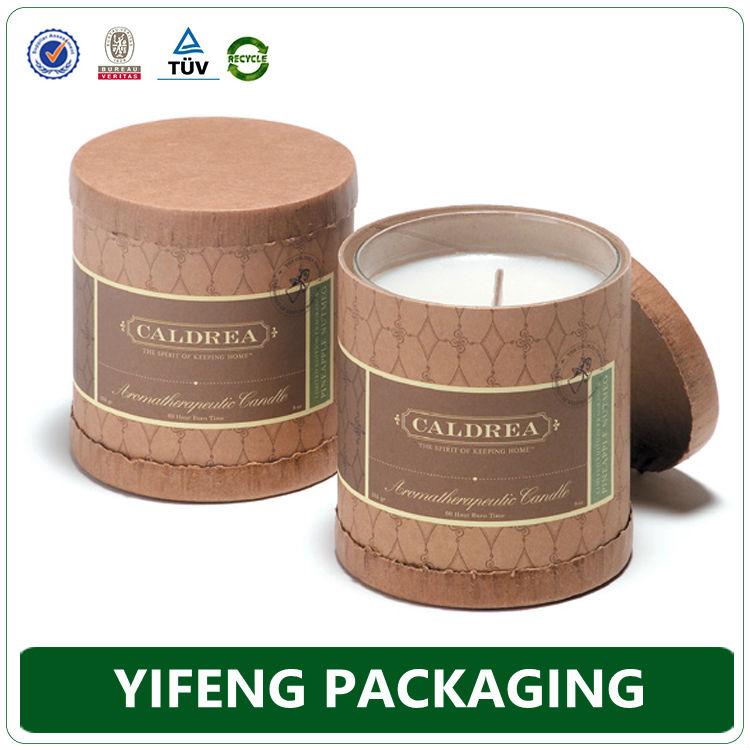 Cardboard Candle Cardboard Candle Gift Box