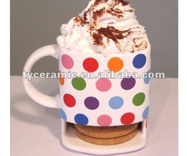 Cookie mug with biscuit holder mug with cookie holder view cookie mug