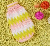 Одежда для собак 10pcs/lot pet clothing dog sweater P0067