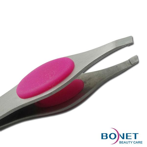 G46 LFGB stainless steel personal care smart tweezers