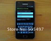 Мобильный телефон Original & unlocked Samsung GALAXY S2 I9100 Smartphone, Android 2.3, Wi-Fi, GPS, 8.0MP, 4.3inch high clear Touchscreen