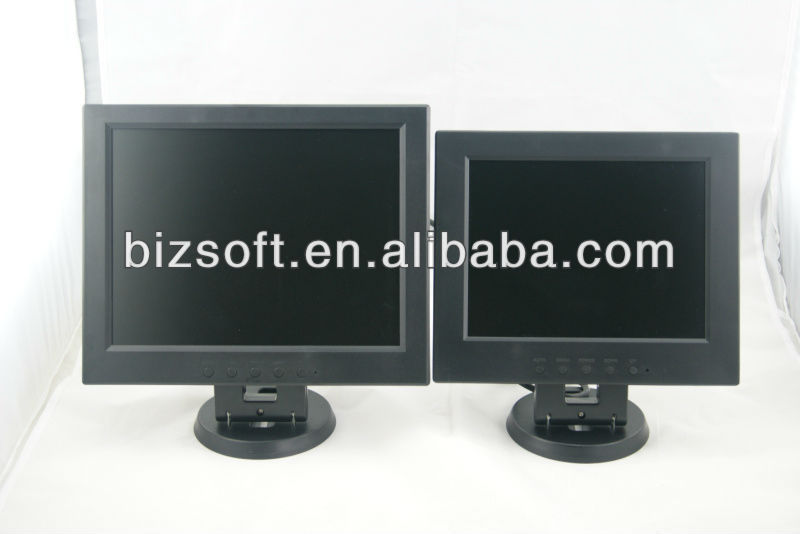 12inch LCD cheap glossy monitor /screen