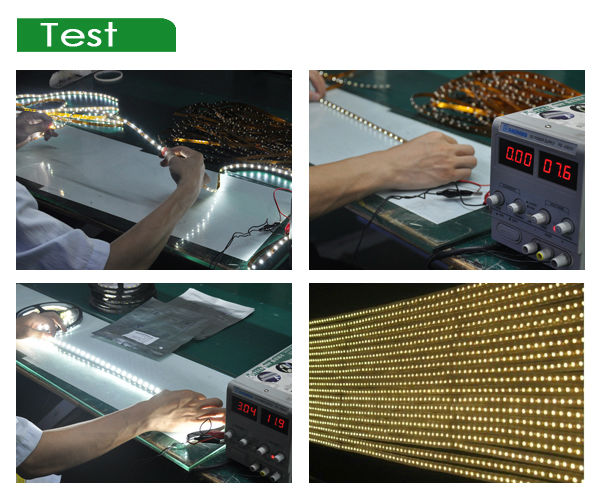 Flexible dot matrix video led display 24v 3528 flexible led light strip cool white led strips