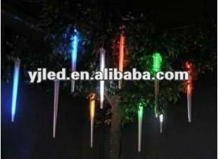 Iluminacion de Navidad Tubos de Led Efecto Lluvia