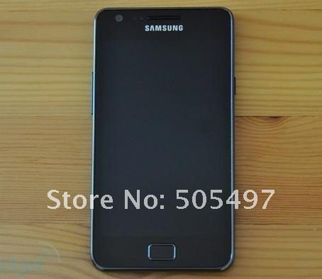 Original brand new Samsung GALAXY S II I9100 Smartphone,Android 2.3,Wi-Fi,GPS,8.0MP,4.3inch high clear Touchscreen,Free shipping