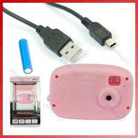 мини цифровая камера фото видео камеры для детей детский розовый