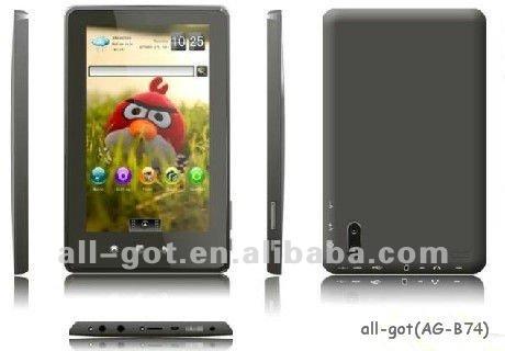 "7"" Boxchip tablet pc gsm sim card slot"