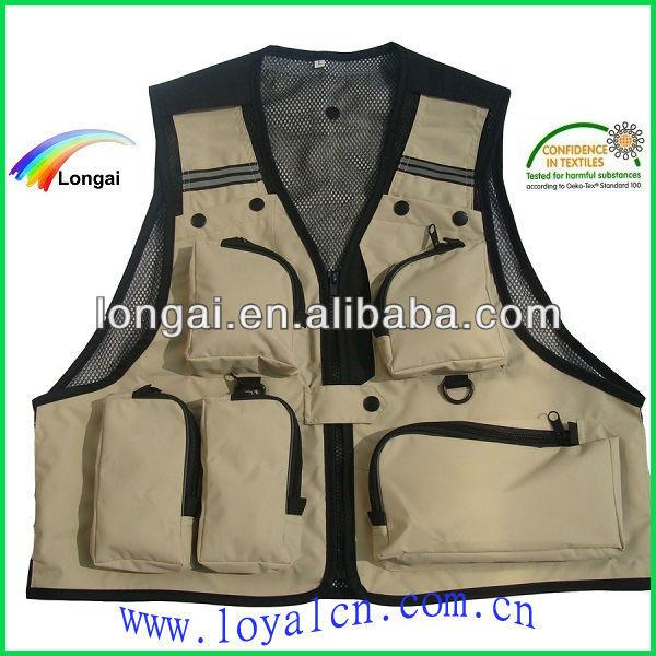 high quality fishing shirts&fishing vest&fishing clothing