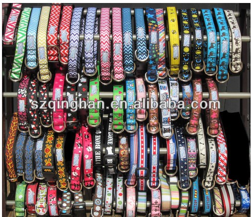 Wholesale Cheap Custom Clothing Pattern Dog Collar Supplier