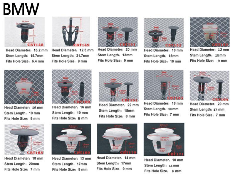 Крепежная деталь в салон авто Rootisbb s 1000 OEM Push , Toyota camry, Avalon & Highlander 2005/cbt/124