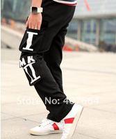 Мужские штаны SALE! 2012 New Men's Sports Pants Casual Pants Fashion Leisure Man Pants Men's Trousers 3 Colors
