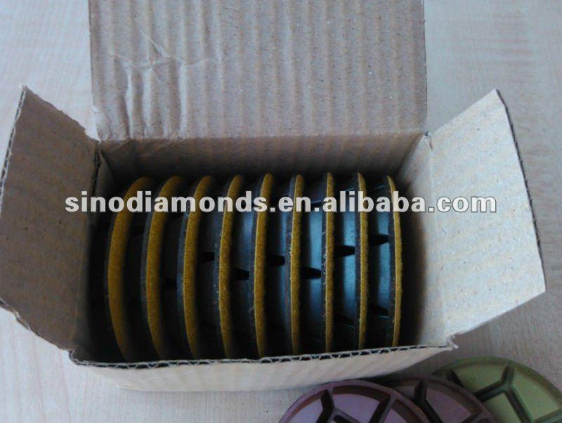 Diamond Polishing Pads for grinding & polishing concrete floor