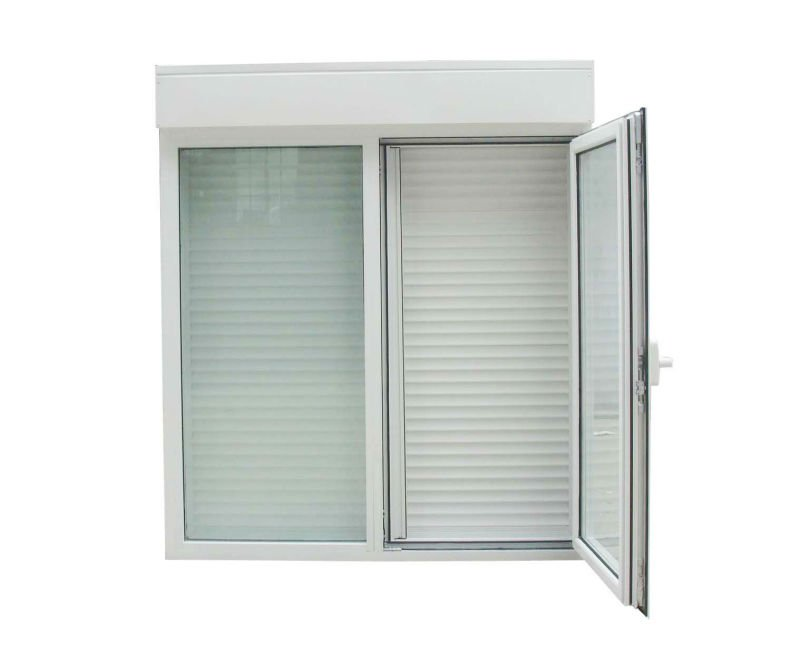 Ventanas de aluminio persiana y mosquitera para for Ventanas con persianas incorporadas