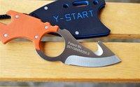 New Listing Multi-function Survival Knife Pocket Knife With Hook TK-83