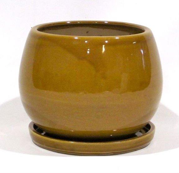 indoor round ceramic garden pot with saucer buy ceramic