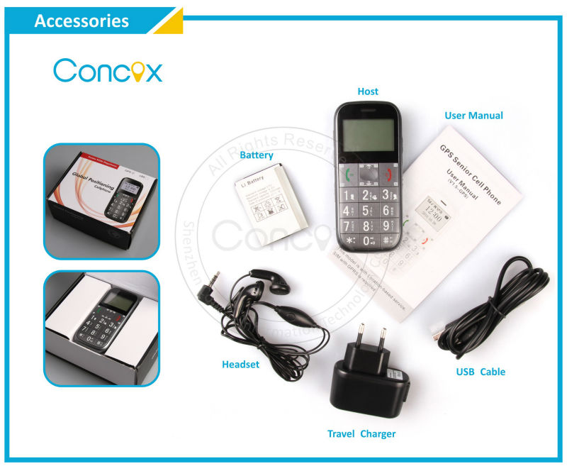 Concox free check brand android phones GS503