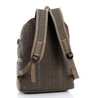 унисекс толстый холст рюкзак сумка для campping & туризм, высокое качество спортивный рюкзак сумка