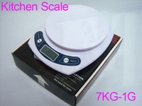 Весы F00416 7kg 1g 7kgx1g 7kg-1g WH Kitchen Food Electronic Portable Weight Digital Scale F00416