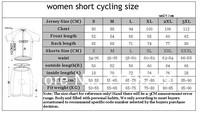 Женский костюм для велоспорта MTB trek Ciclismo #07453 bib Shorts suits