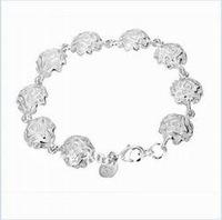 Оптовые браслеты и браслеты стерлинговое серебро 925 пробы smth135