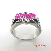 Free shipping 316L stainless steel Fashion Rings, 5 Pieces/Lot, Mix size. wholesales and Retails.Ring-064A