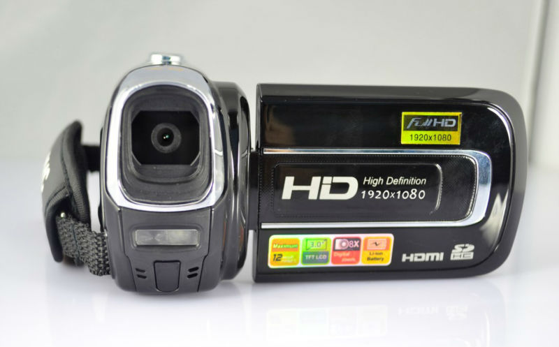 Full HD digital video camera with HDMI port, 8x digital zoom, 12 Mega Pixels 3.0'',HD LCD HDV531