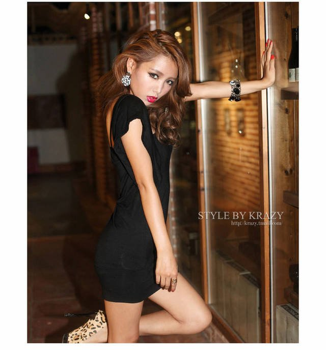 New2012Summer beautiful mushrooms street clothing wholesale factory direct sexy multi-worn package hip dress