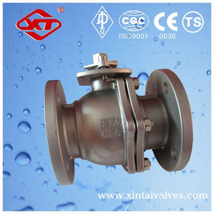 long stem valve valve cf8m chemical resistant ball valve