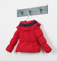 Пуховик для девочек 4 pcs/lot Girls Outerwear Warm Jacket Coat Children Kids Clothes Cartoon Parkas High Quality LC0802