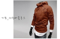 Free Shipping New coats men's outerwear Mens Special Hoodie Jacket Coat fashion casual men clothes 5 colors size M 3XL