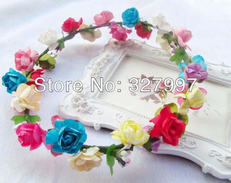 Making Flower Headbands Flower Headband Diy Bridal