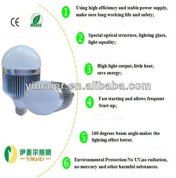 9w Low Cost And High Lumen 7W E27/26, B22 base led light bulb