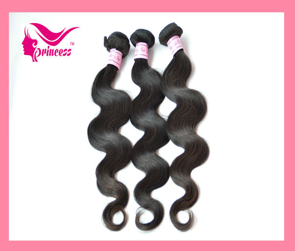 5A virgin brazilian hair princess weave beauty ltd
