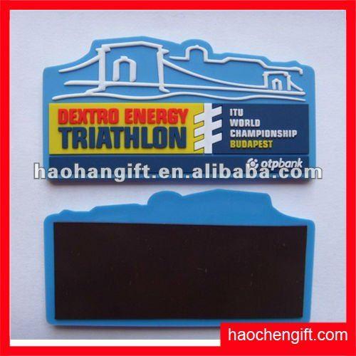 2012new promotion logo rubber fridge magnet