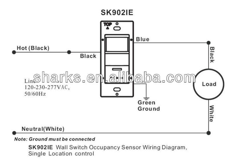 wall occupancy sensor wiring diagram get free image Leviton 3-Way Switch Wiring Diagram Leviton Switches Wiring Diagram 3 and 4