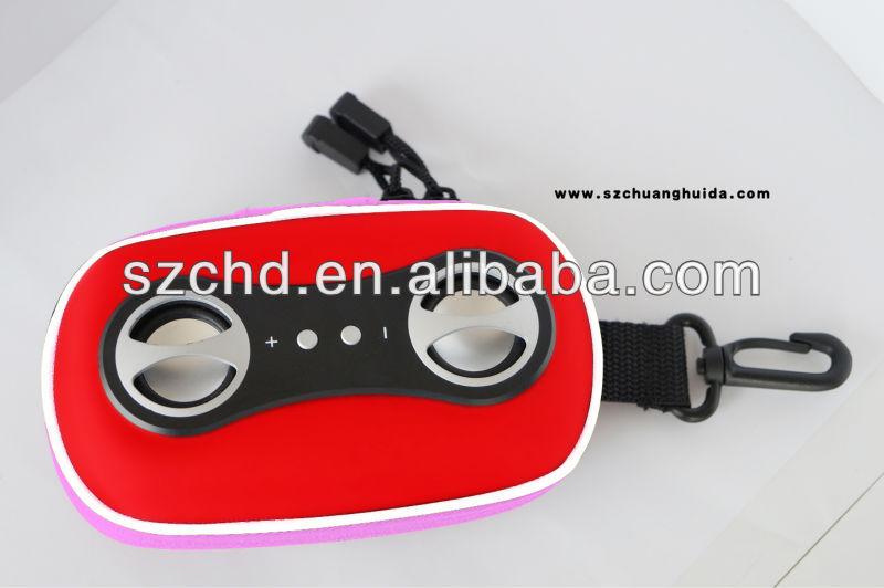 Audio portable mini music speaker case for phones