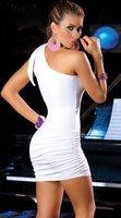 Коктейльное платье sexy Dress fashion dress ladies' dress evening dresses Underwear Unused, One size white, 029