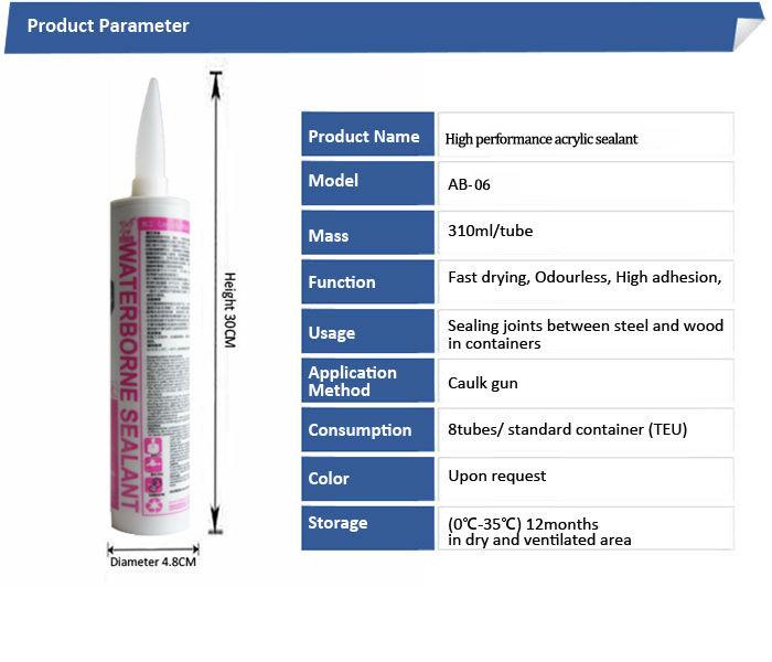 High Performance Acrylic Sealant