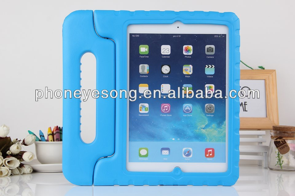 Newest EVA foam kids case for ipad air eva shockproof case for ipad 5