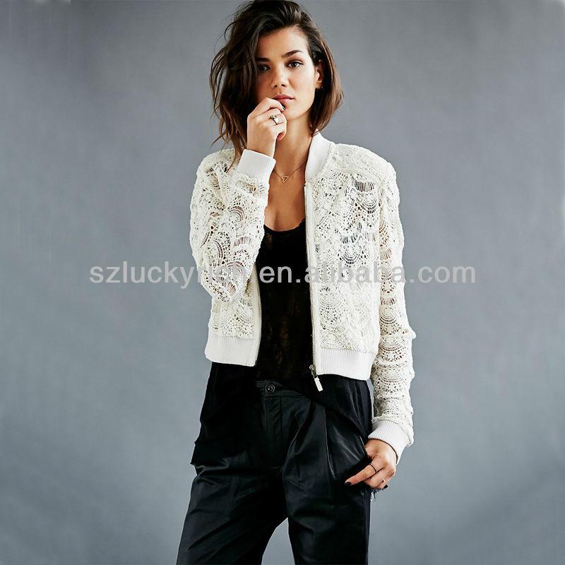 new 2014 hot sale china supplier custom wholesale cheap lady jacket