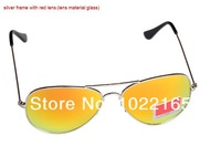 Женские солнцезащитные очки High Quality men sunglass Fashion brand sunglass Color glass lens women sunglass 3025 58CM 62CM Full set packing box