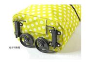 стильный и удобный сдвоенное колесо многоразовые сумки Оксфорд ткань сумка hg-031063