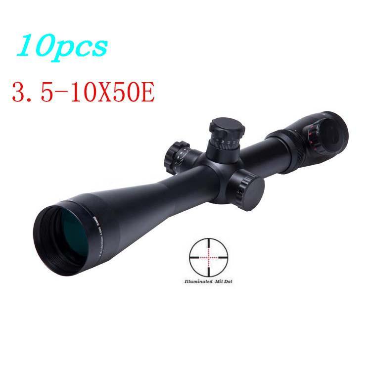 Винтовочный оптический прицел 10 3.5/10 x 50 mil/dot 3.5-10x50