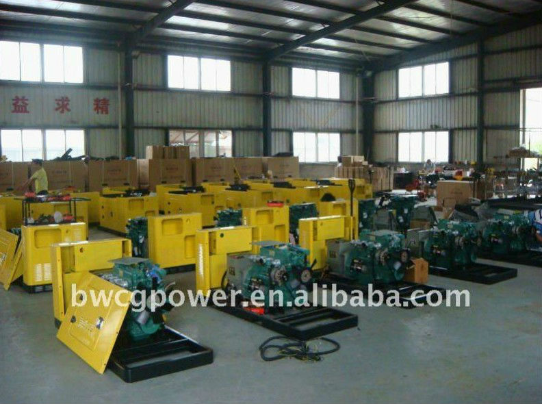 Japan Yanmar Engine 10kw Super Silent Genset Generator