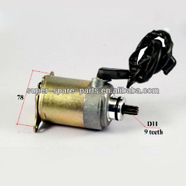 70cc ATV moped 2 screw mounting atv starter motor