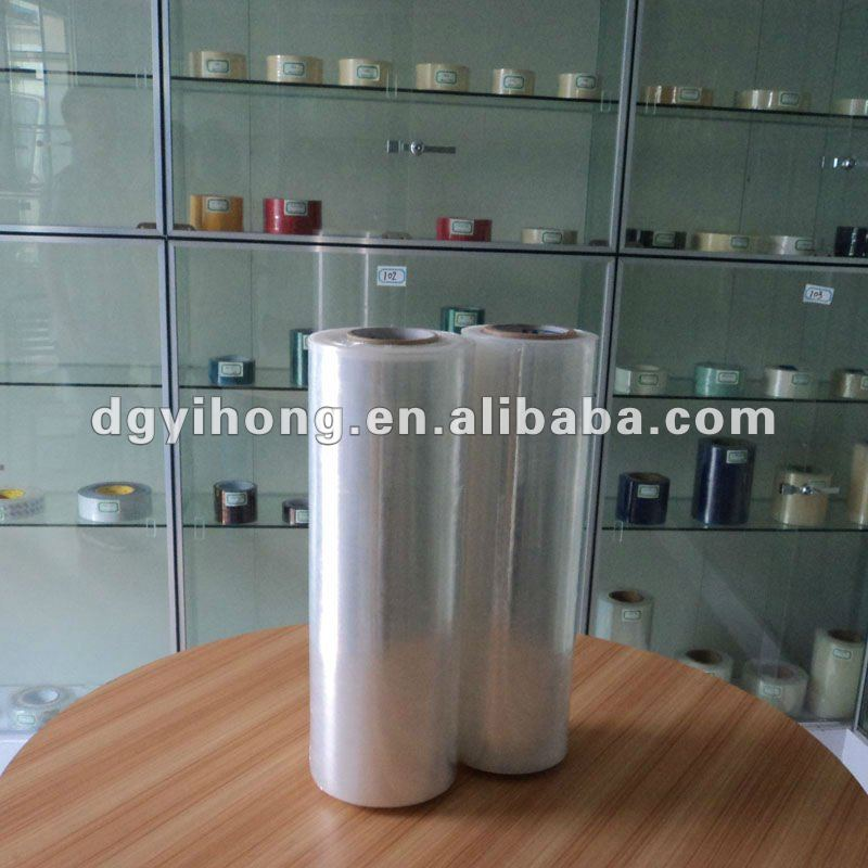 High quality 3 layers pe plastic film wrap