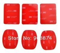 3m vhb клей липкий для gopro hero hero2 hero3 suptig шлем монтирования набора стикер красный 3М
