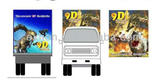 hot hydraulic 5d cinema 5d theatre ,mobile 3d 4d 5d 6d 7d cinema